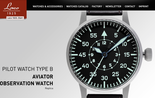 The legendary reputation LACO aviation watches had during the early 1940s helped to firmly establish the company