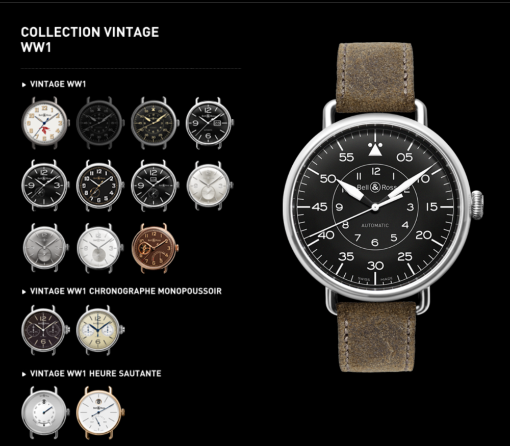 The Bell & Ross Aviator collection