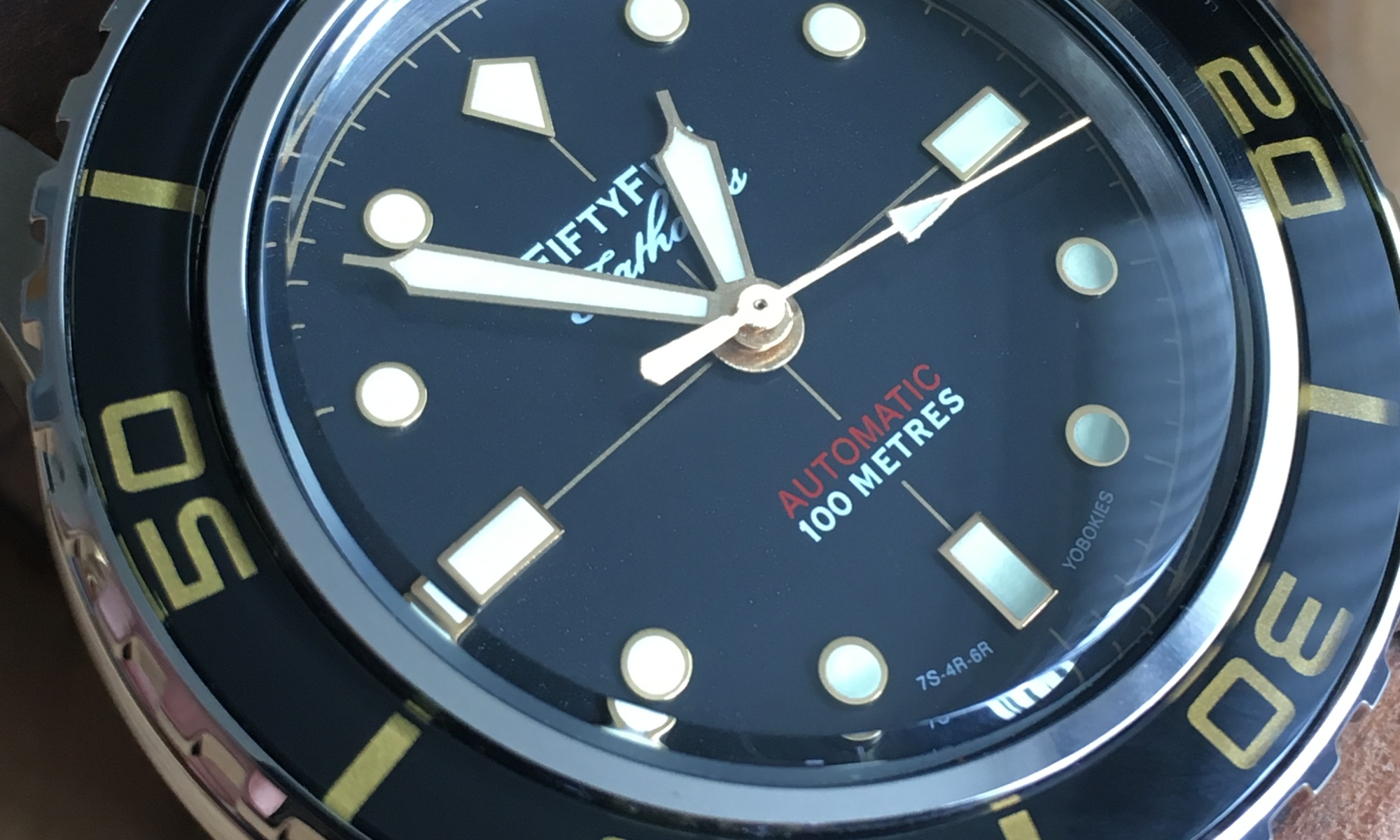 Building your own Seiko Fifty Five Fathoms Homage – a