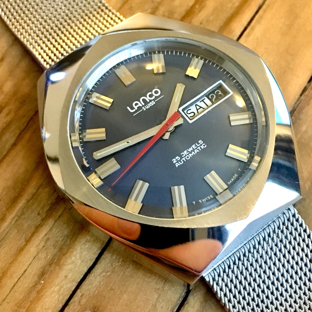 Lanco watch AS2086 movement - 1