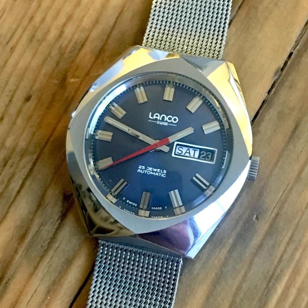 Lanco watch AS2086 movement - 6